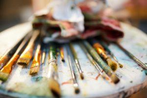 Nettoyage des pinceaux